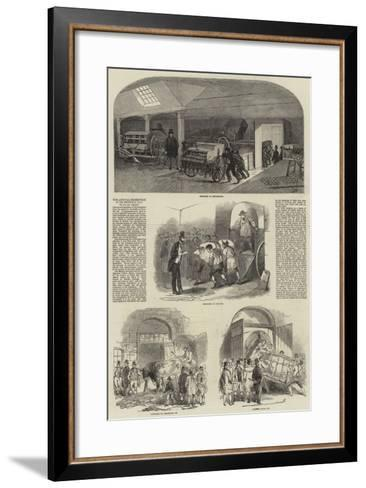 The Annual Exhibition of the Smithfield Club--Framed Art Print