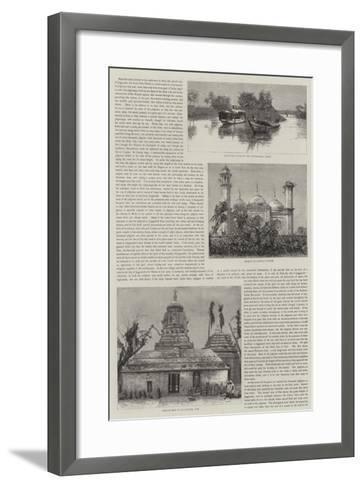 A Postmaster-General's Tour in Orissa, Bengal--Framed Art Print