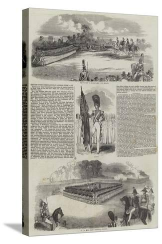 Review of the Grenadier Guards in Hyde Park--Stretched Canvas Print