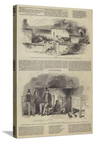 Illustrations of Daniel O'Connell's Tenantry--Stretched Canvas Print