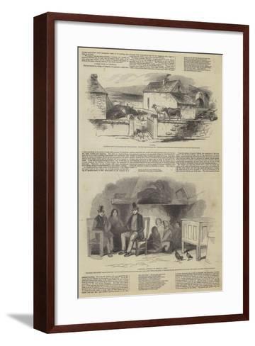 Illustrations of Daniel O'Connell's Tenantry--Framed Art Print