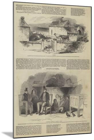 Illustrations of Daniel O'Connell's Tenantry--Mounted Giclee Print