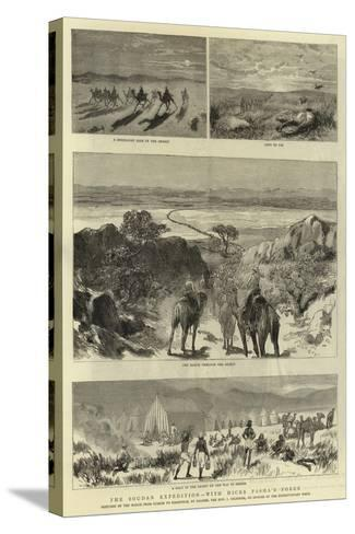 The Soudan Expedition, with Hicks Pasha'A Force--Stretched Canvas Print