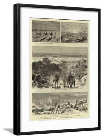 The Soudan Expedition, with Hicks Pasha'A Force--Framed Art Print