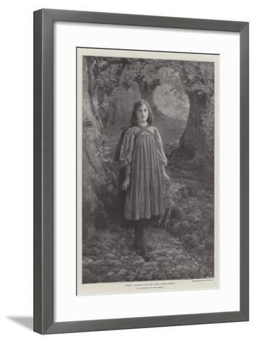 Stella, Now on Exhibition at the Royal Academy--Framed Art Print