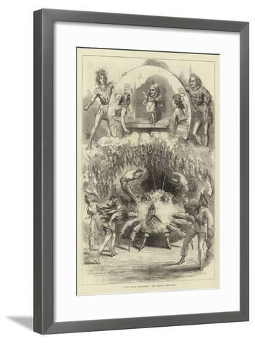 Scene from Spitz-Spitze, the Grecian Pantomime--Framed Art Print