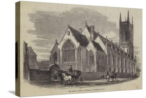 New Roman Catholic Cathedral, St George's Fields--Stretched Canvas Print