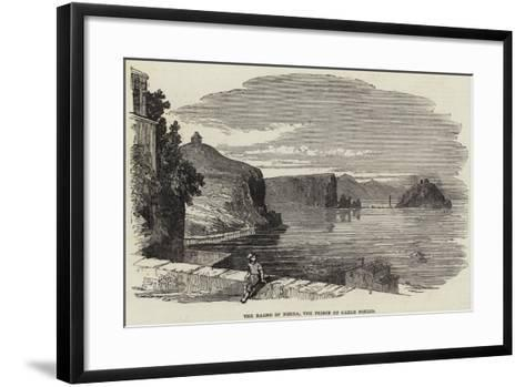 The Bagno of Nisida, the Prison of Carlo Poerio--Framed Art Print