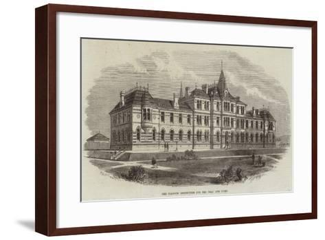 The Glasgow Institution for the Deaf and Dumb--Framed Art Print