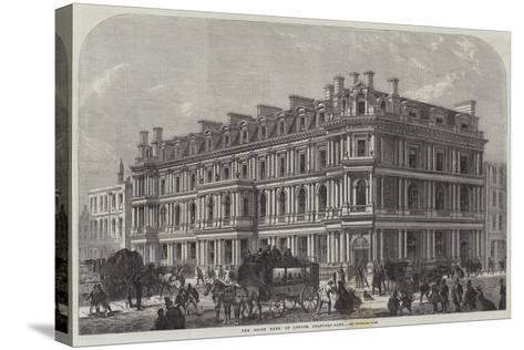 The Union Bank of London, Chancery-Lane--Stretched Canvas Print