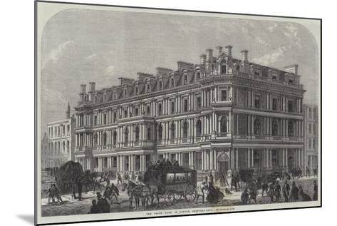 The Union Bank of London, Chancery-Lane--Mounted Giclee Print