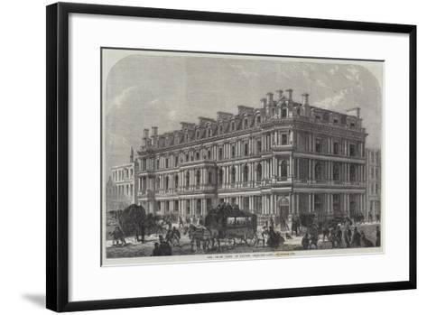 The Union Bank of London, Chancery-Lane--Framed Art Print