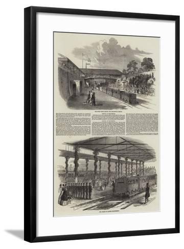 Return of the Court from the Highlands--Framed Art Print