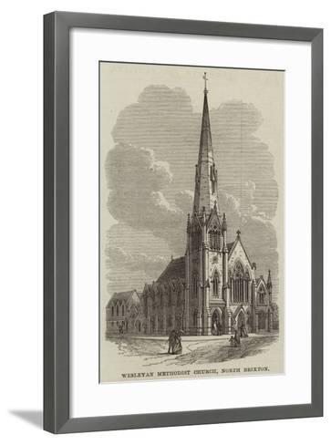 Wesleyan Methodist Church, North Brixton--Framed Art Print