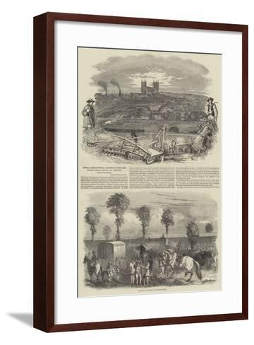 Royal Agricultural Society of England--Framed Art Print