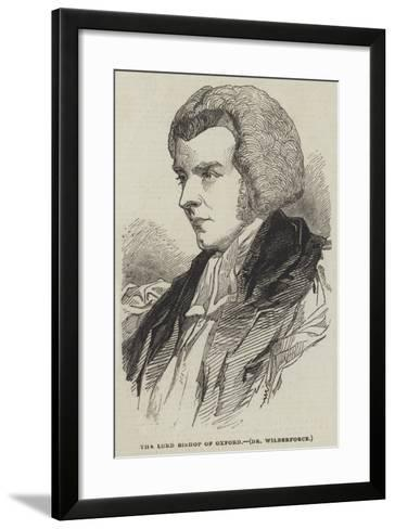 The Lord Bishop of Oxford, Dr Wilberforce--Framed Art Print