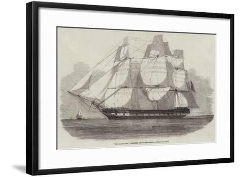 The Dalhousie, Wrecked Off Beachy Head--Framed Art Print
