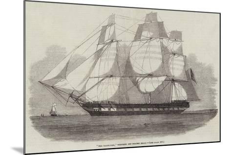 The Dalhousie, Wrecked Off Beachy Head--Mounted Giclee Print