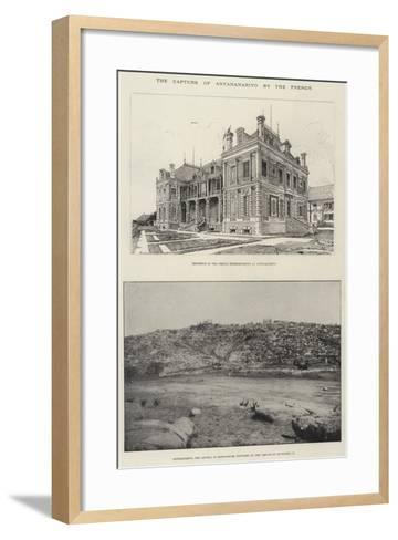 The Capture of Antananarivo by the French--Framed Art Print