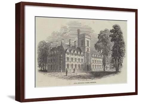 Royal Agricultural College, Cirencester--Framed Art Print