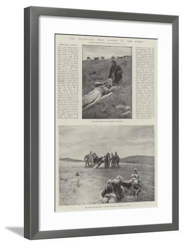 The Transvaal War, Scenes at the Front--Framed Art Print