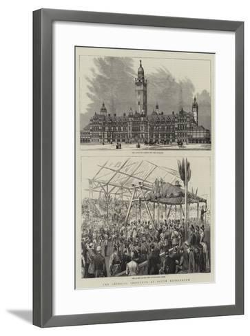 The Imperial Institute at South Kensington--Framed Art Print