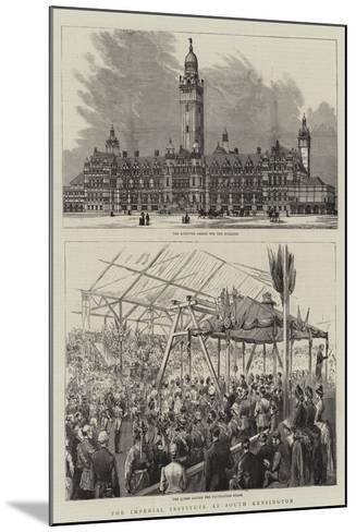 The Imperial Institute at South Kensington--Mounted Giclee Print