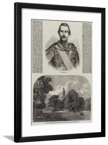 Marriage of Princess Mary of Cambridge--Framed Art Print