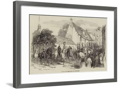 Entry of Sir Harry Smith into Whittlesea--Framed Art Print