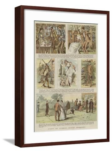 Stodge and Scumble's Country Adventures--Framed Art Print