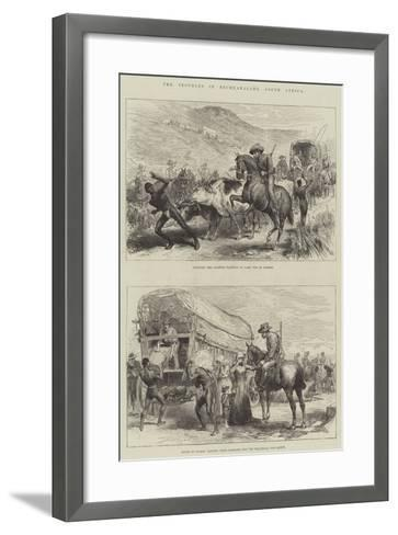 The Troubles in Bechuanaland, South Africa--Framed Art Print