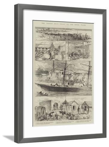 The Frozen Meat Trade of the River Plate--Framed Art Print