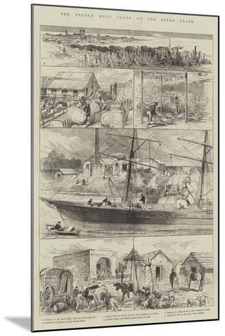 The Frozen Meat Trade of the River Plate--Mounted Giclee Print