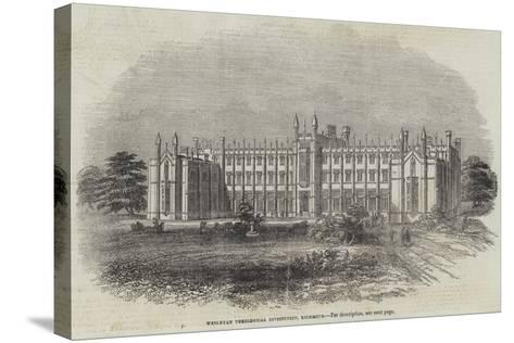 Wesleyan Theological Institution, Richmond--Stretched Canvas Print
