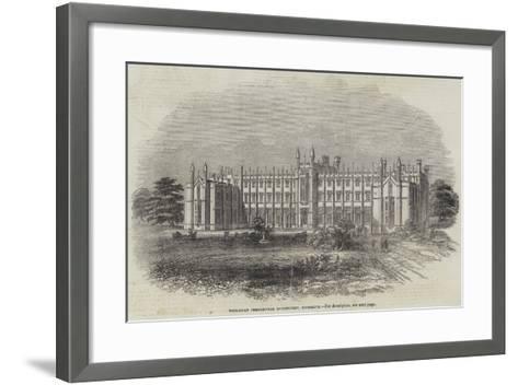 Wesleyan Theological Institution, Richmond--Framed Art Print