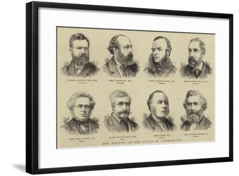New Members of the House of Commons, VII--Framed Art Print