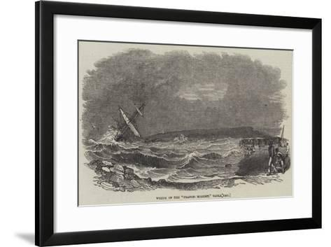 Wreck of the Francis Spaight, Table Bay--Framed Art Print