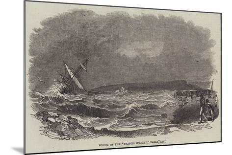 Wreck of the Francis Spaight, Table Bay--Mounted Giclee Print