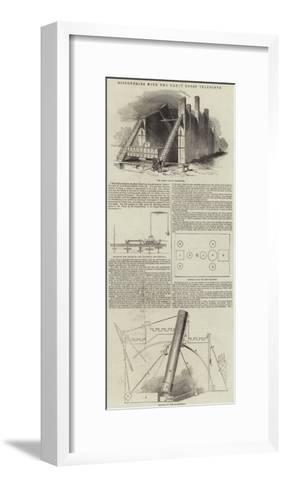 Discoveries with the Great Rosse Telescope--Framed Art Print