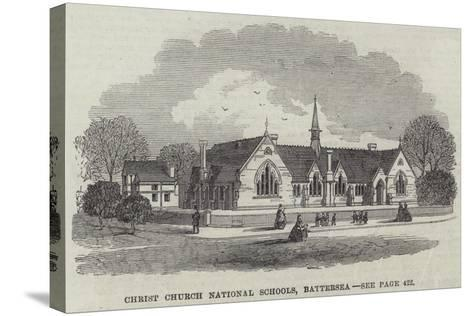 Christ Church National Schools, Battersea--Stretched Canvas Print