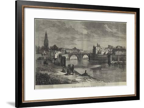The Great Floods in Spain, Town of Murcia--Framed Art Print