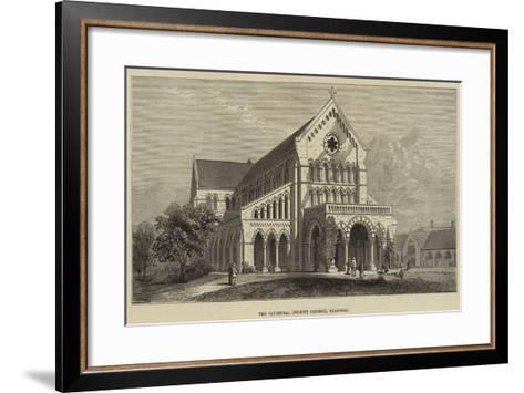 The Cathedral (Trinity Church), Shanghai--Framed Art Print
