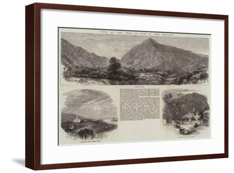 Views at the Seat of War in New Zealand--Framed Art Print