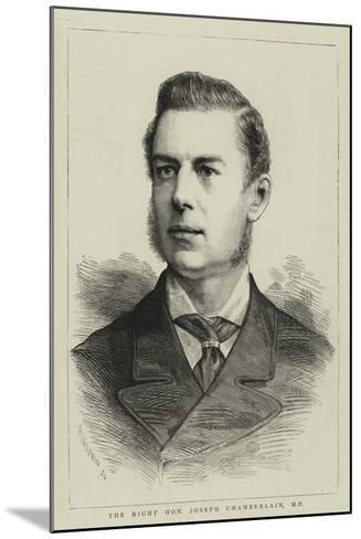 The Right Honourable Joseph Chamberlain--Mounted Giclee Print