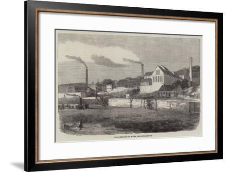 The Armstrong Gun Works, Newcastle-On-Tyne--Framed Art Print