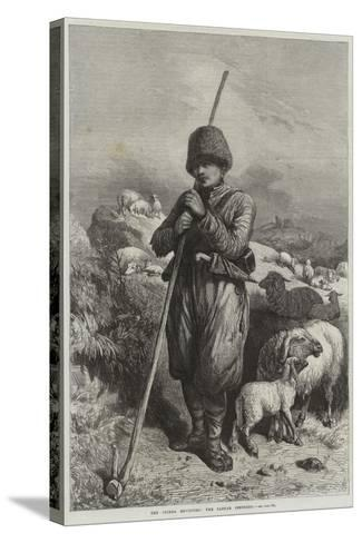 The Crimea Revisited, the Tartar Shepherd--Stretched Canvas Print