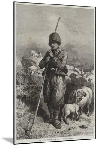 The Crimea Revisited, the Tartar Shepherd--Mounted Giclee Print