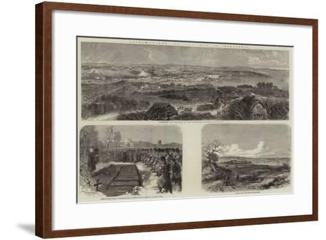 Illustrations of the War in Schleswig--Framed Art Print