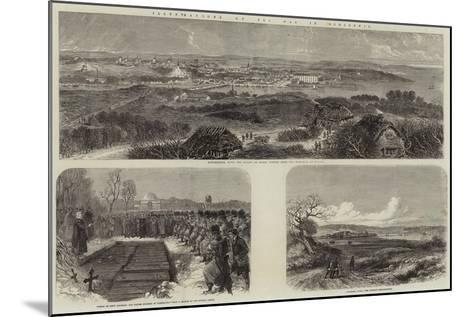 Illustrations of the War in Schleswig--Mounted Giclee Print
