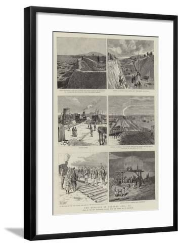The Russians in Central Asia, III--Framed Art Print